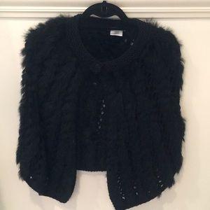 Jackets & Blazers - Rabbit cape